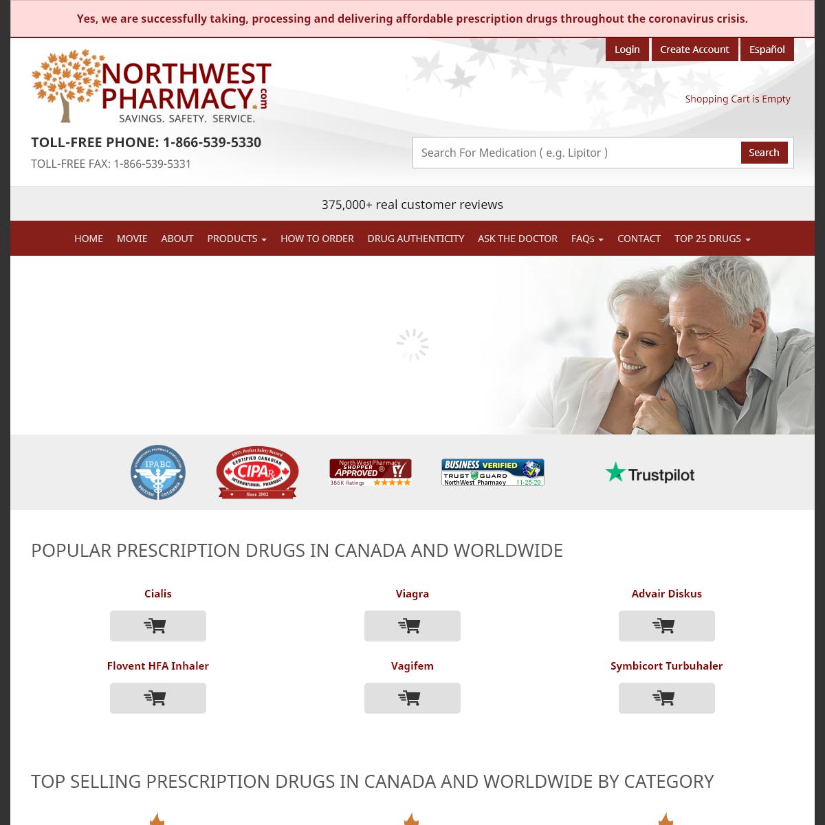 Canadian Pharmacy – Certified Online Pharmacy Canada