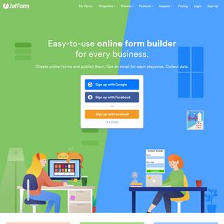 Free Online Form Builder & Form Creator - JotForm