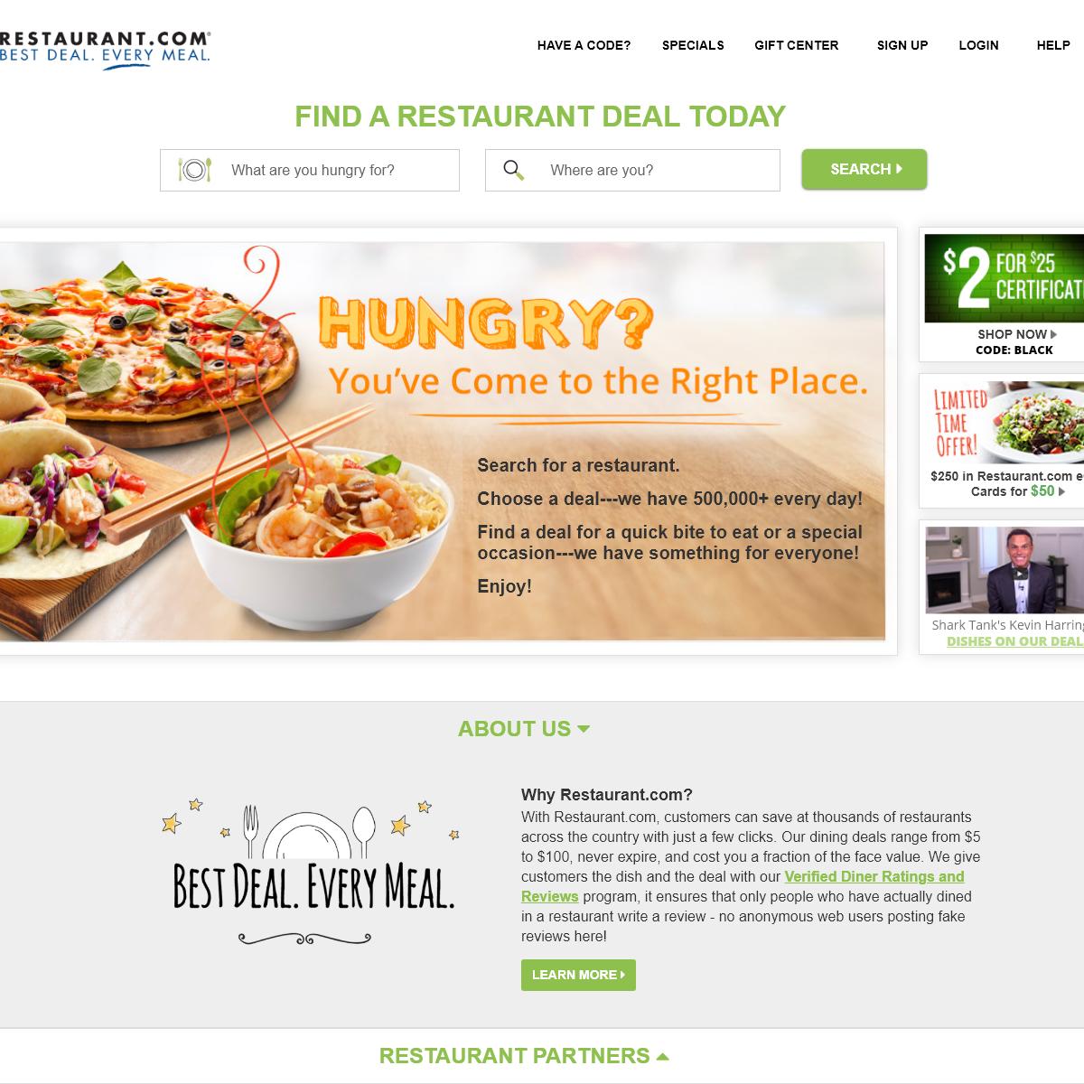 Restaurant.com - Restaurant Reviews, Coupons and Deals