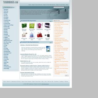 Bags & Cases, China Bag & Case Manufacturer, Bag Manufacturer Directory