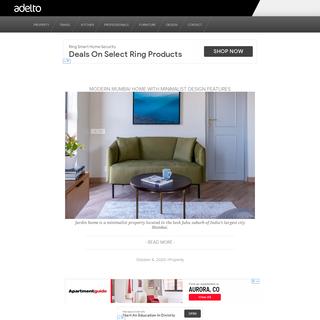 Luxury Homes Inspiration, Interior Design Ideas, Hotels & Travel Adelto