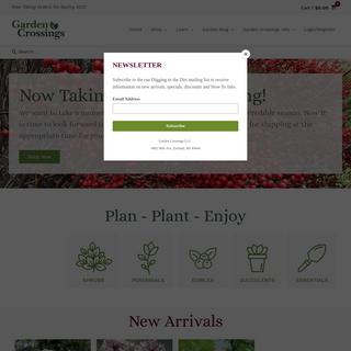 Online and Retail Garden Center in Zeeland - Michigan