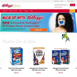 Official Kellogg`s Merchandise, Collectibles, Clothing - Kellogg`s Store