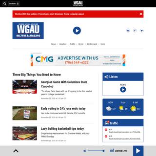 WGAU Radio - Athens, GA – WGAU