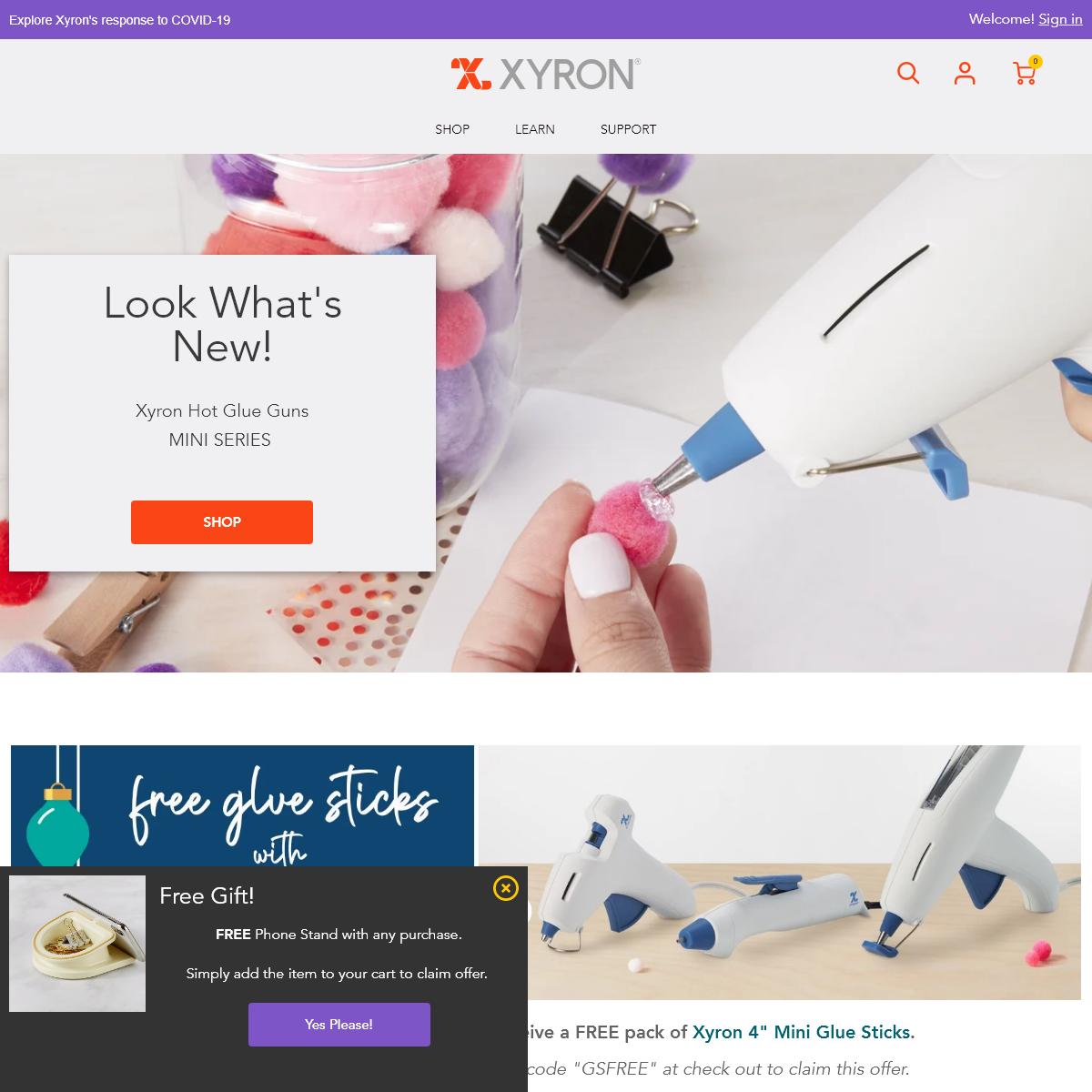 Craft Supplies & Storage - Xyron