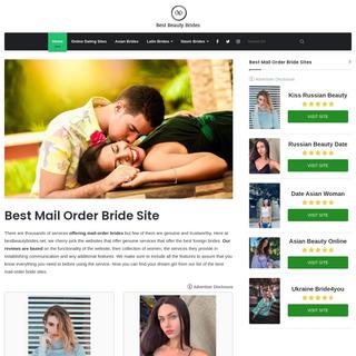 International Mail Order Brides - Find The Best Beauty Mail Order Bride Online