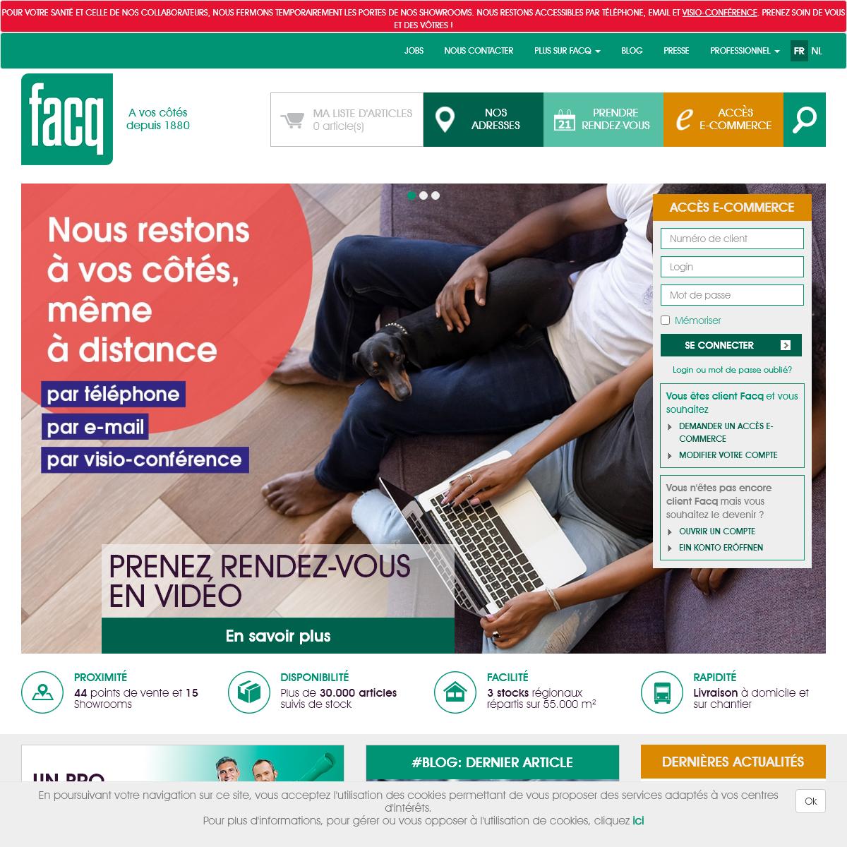 Chauffage, salle de bains, cuisine, énergies renouvelables - Facq - Facq