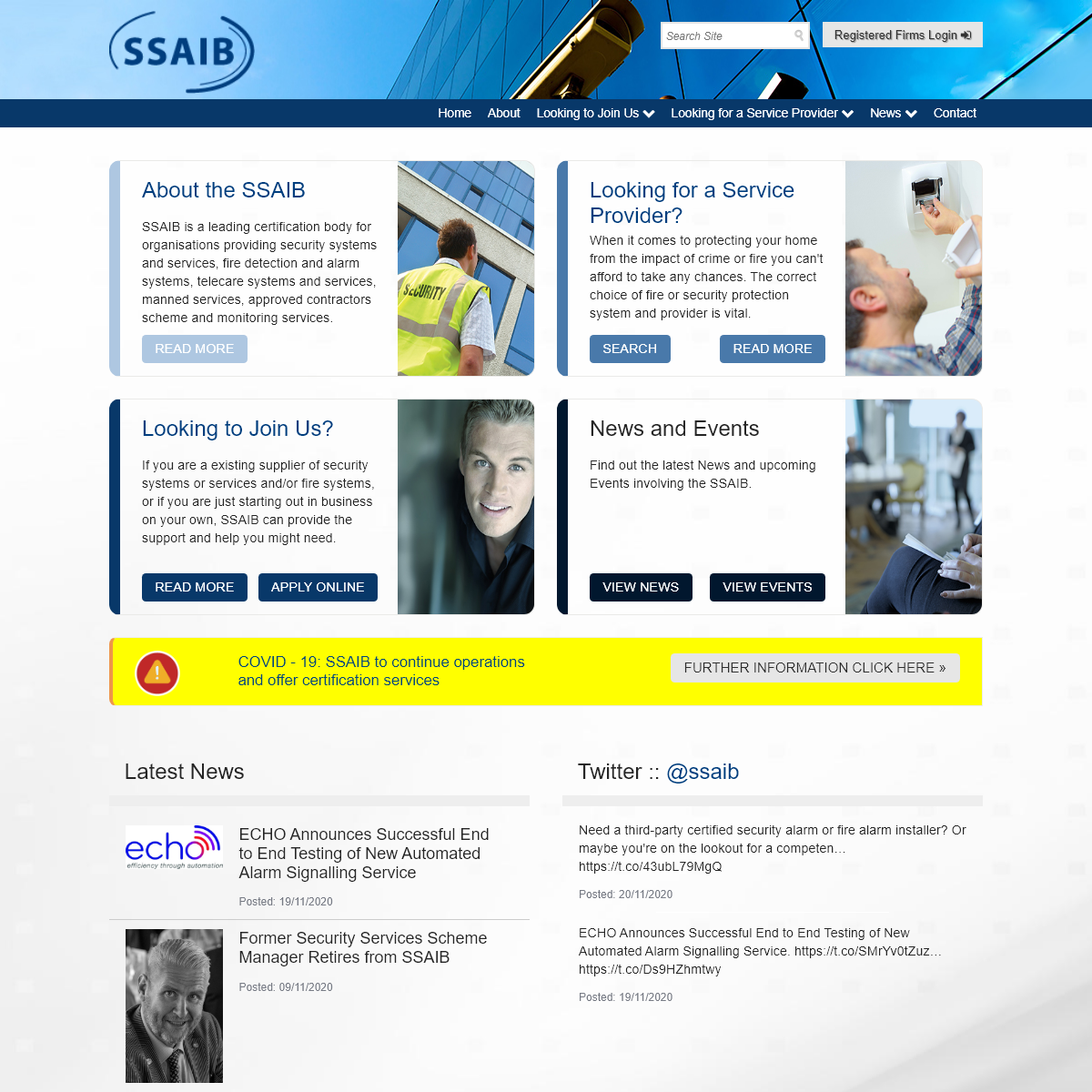 SSAIB - Certification for Security Service Providers