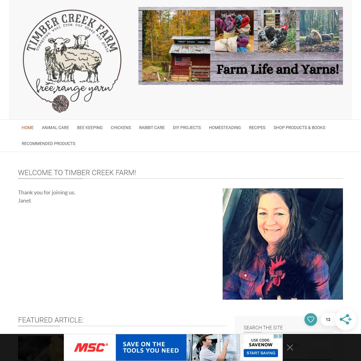 - Timber Creek Farm
