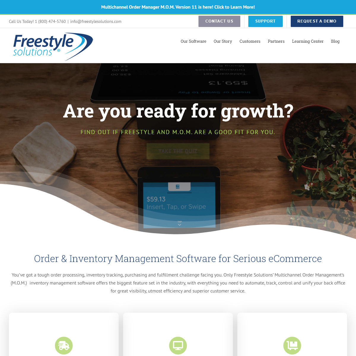 Order & Inventory Management Software - Freestyle