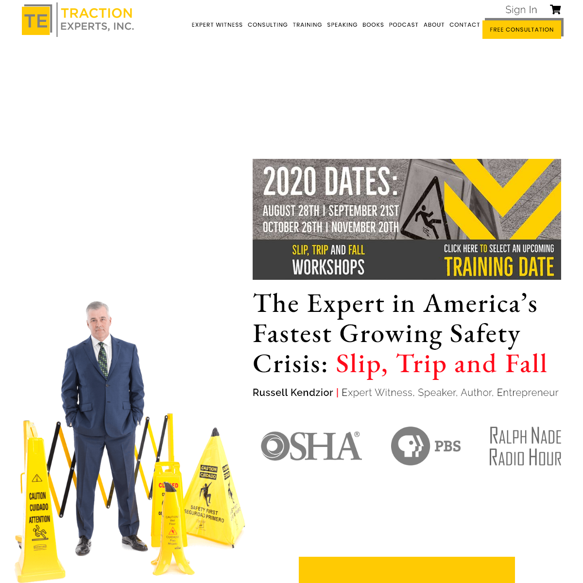 Traction Experts, Inc.- Slip, Trip, & Fall Prevention Expert Witness