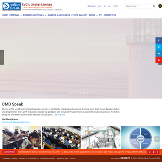 EdCIL - Home Page