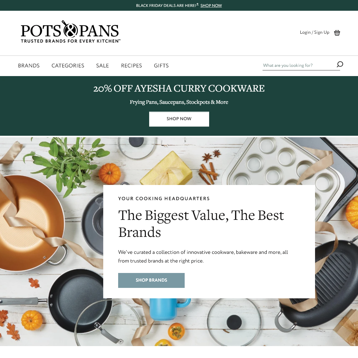Trusted Brands for Every Kitchen - PotsandPans