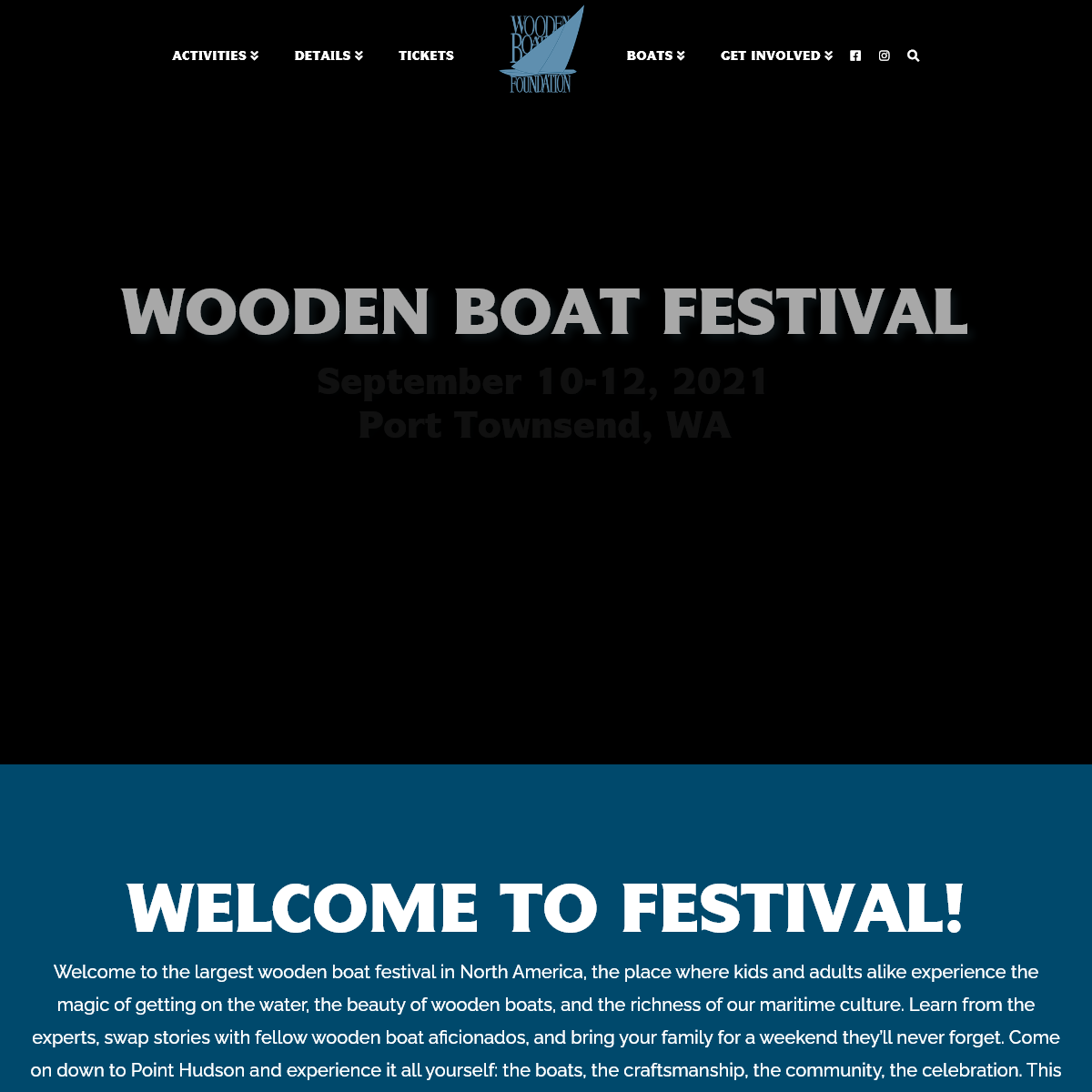 Wooden Boat Festival - Port Townsend Wooden Boat Festival