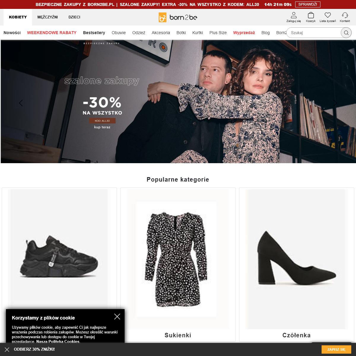 Modna odzież i obuwie online, jesień 2020 – odkryj wyjątkową kolekcję born2be.pl