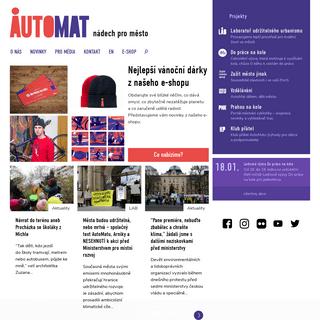 AutoMat - nádech pro město