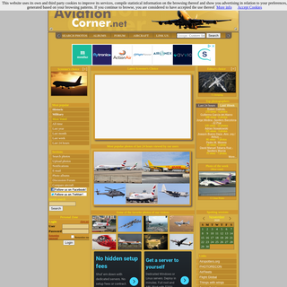 AviationCorner.net - Aviation site for enthusiasts - Aircraft Photography and meeting point for spotters from around the world