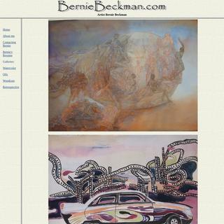 Maine Watercolor Artist Bernie Beckman - Website and Gallery