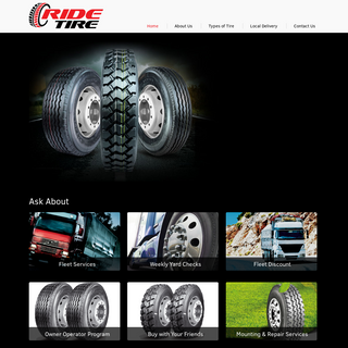 RIDE TIRE - Welcome to Ride Tires