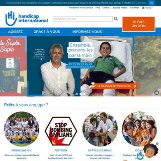 Handicap International - Handicap International France