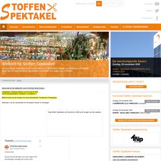 Stoffen Spektakel - De gezelligste stoffenbeurs van Nederland - StoffenSpektakel.nl
