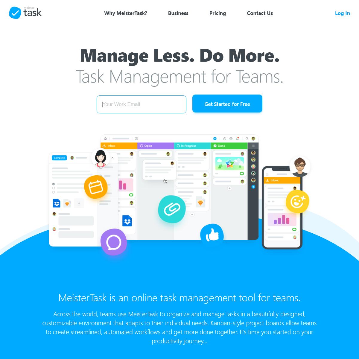 Task Management for Teams - MeisterTask