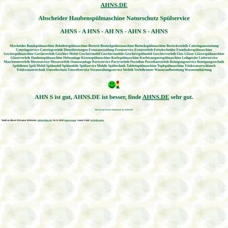 ahns Abscheider Haubenspülmaschine Naturschutz Spülservice Spülmobil Verleih Geschirrmobil Mieten