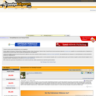 TavsiyeEdiyorum.com Uzman Tavsiye Portalı