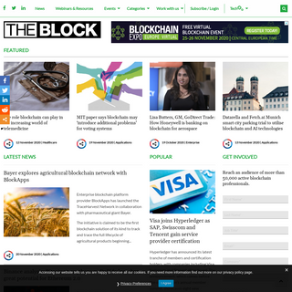 The Block - Blockchain Technology News