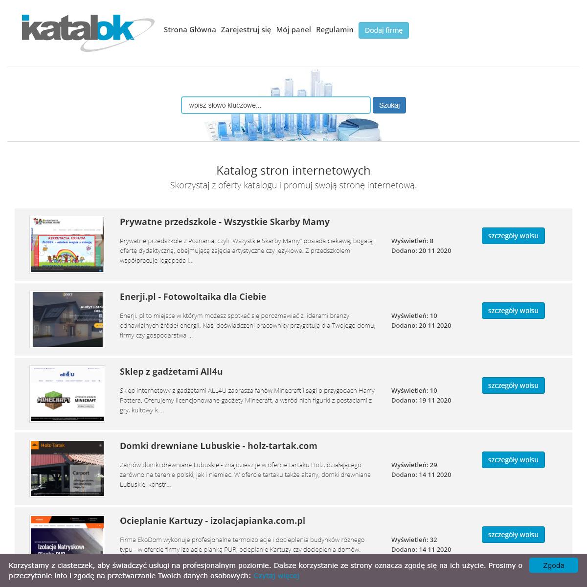 Katalog Stron OK - Katalok.pl