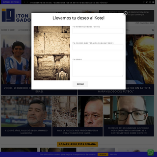 Itón Gadol - Información comunitaria latinoamérica