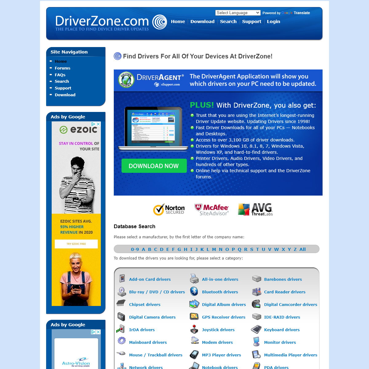 Find Drivers For All Of Your Devices At DriverZone! - DriverZone