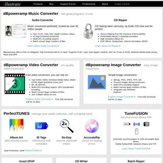 dBpoweramp- mp3 Converter, CD Ripper, FLAC, Apple Lossless, WAV, AAC, AIFF. Fix album art, Asset UPnP Server