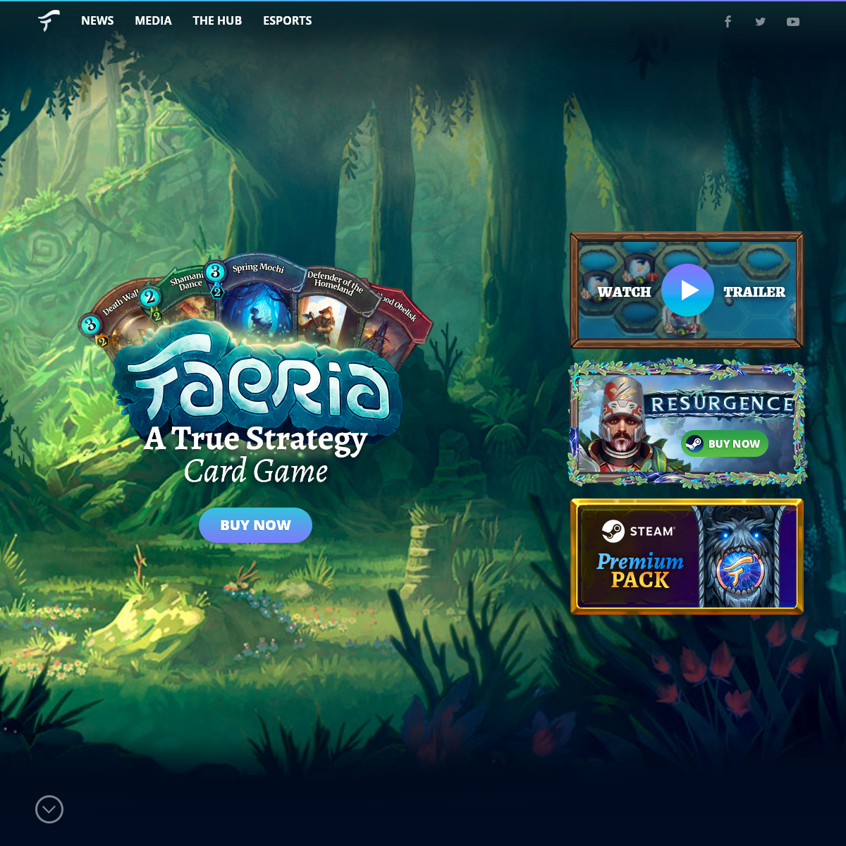 Faeria- Strategy Card Game meets Living Board
