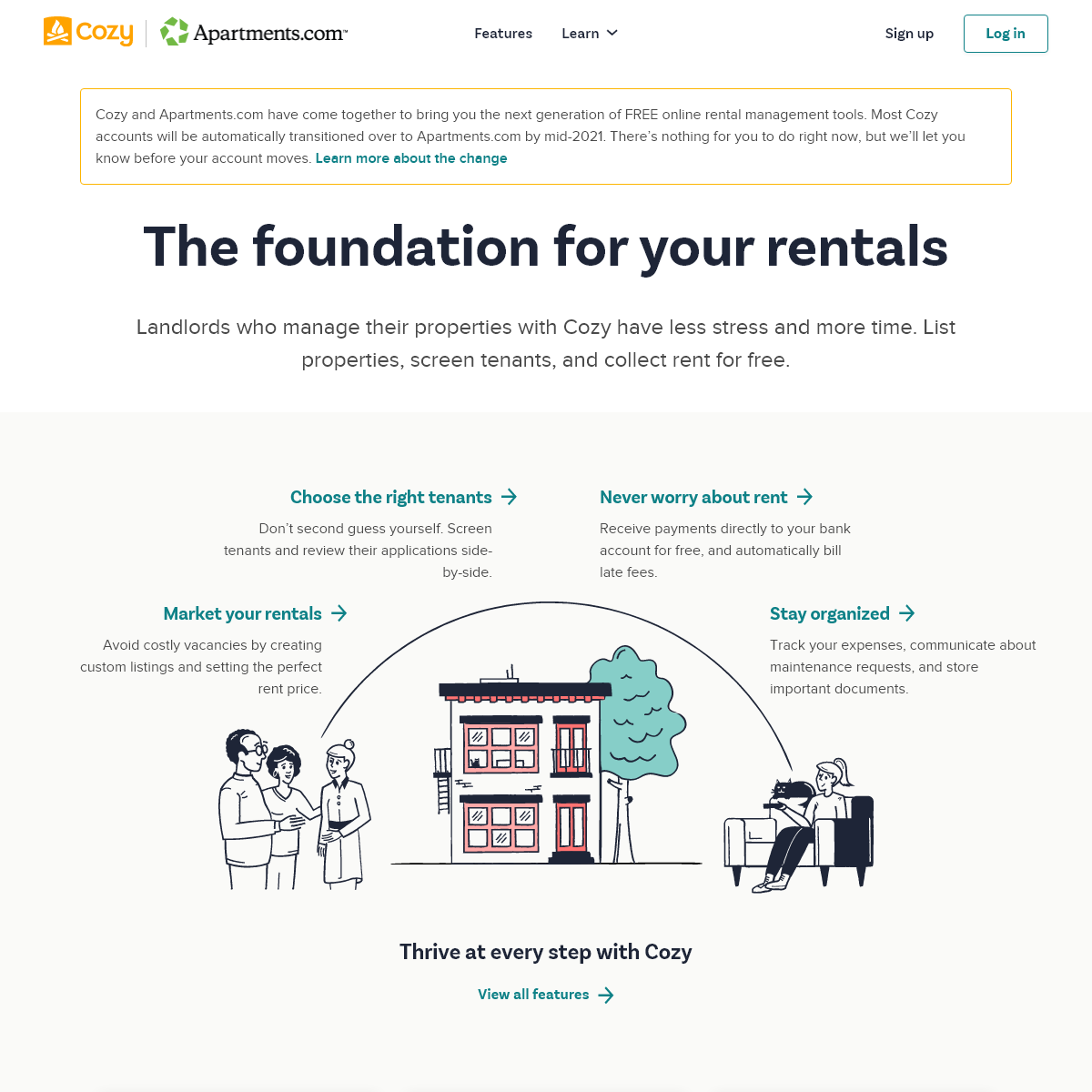 Free property management software - Online rent collection, renters insurance, tenant screening, credit and background checks -