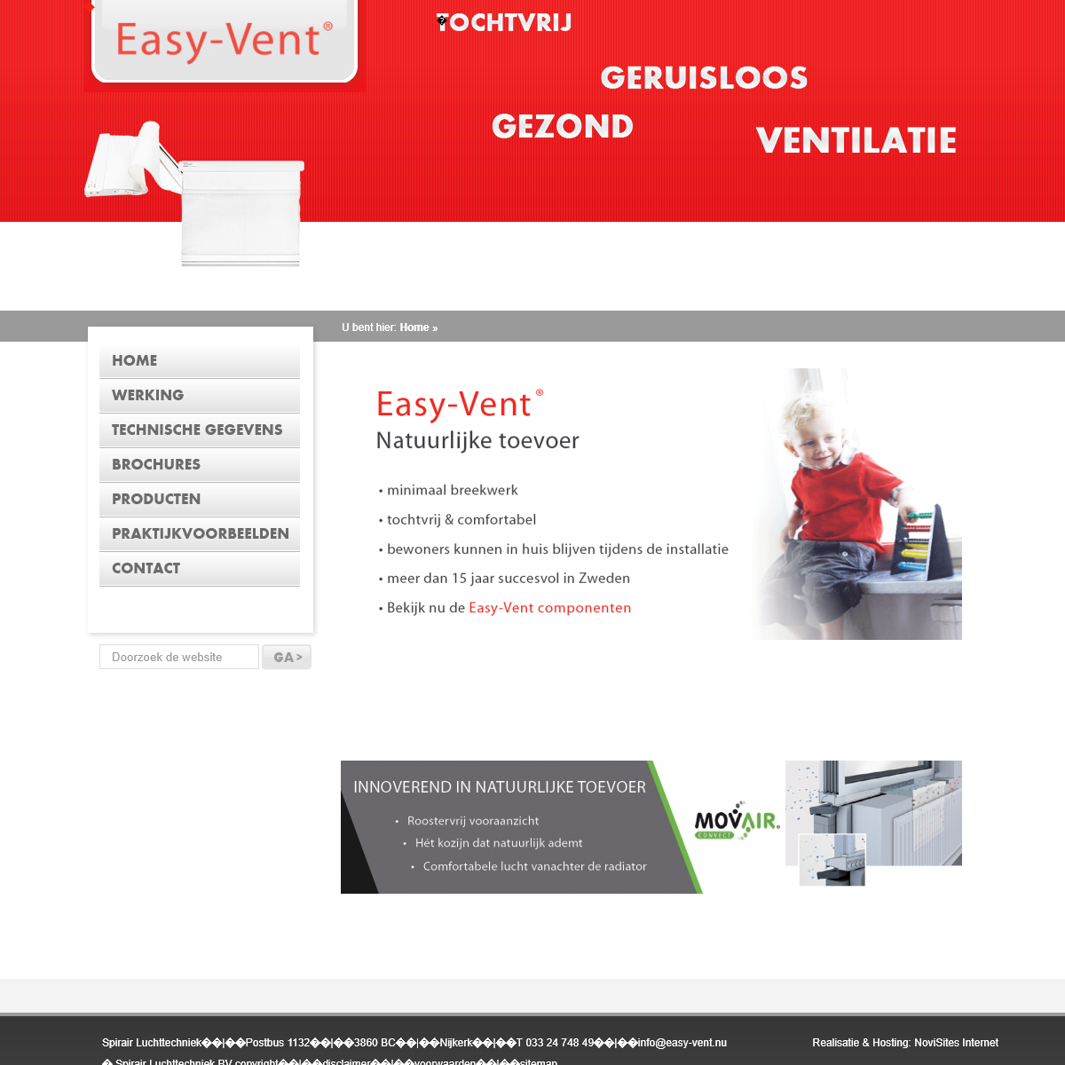 Easy-Vent � Home