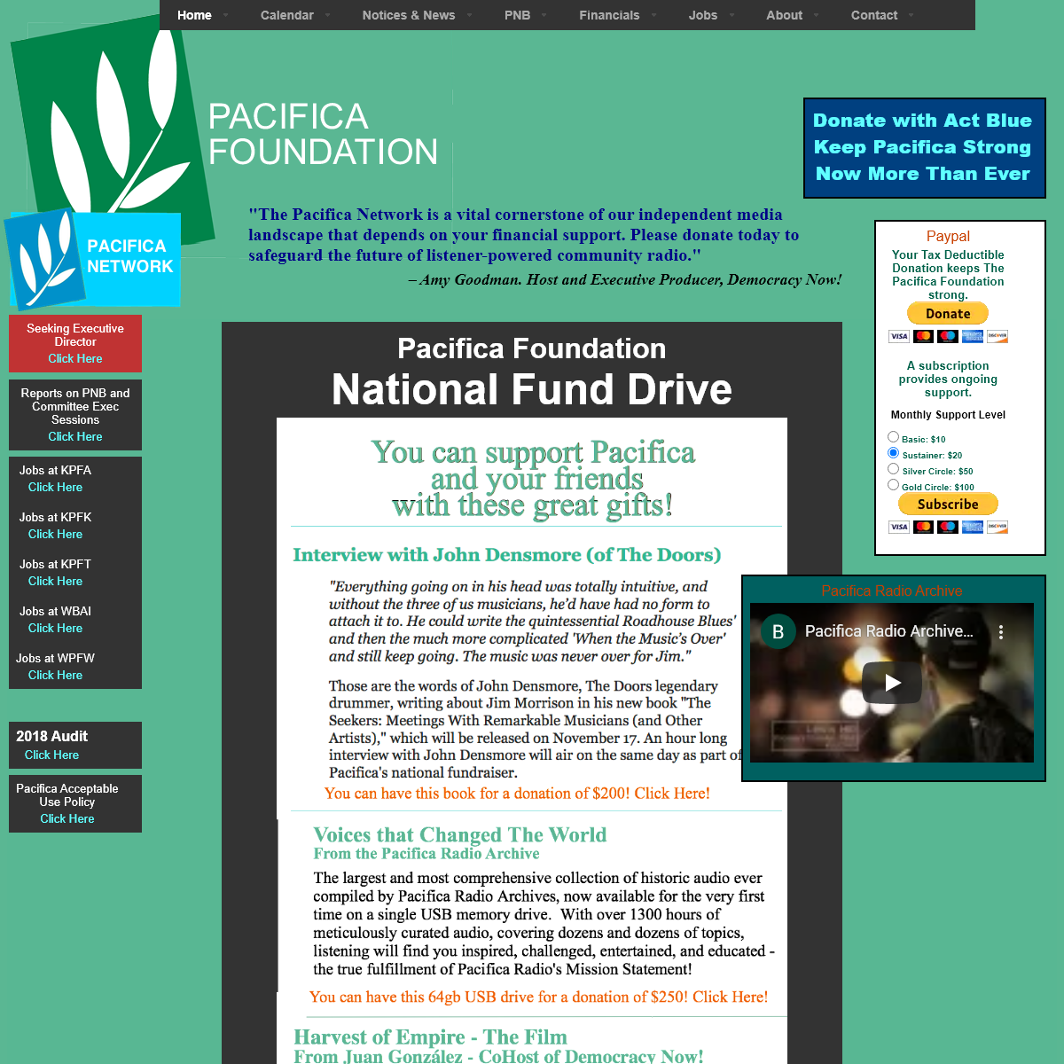 The Pacifica Foundation