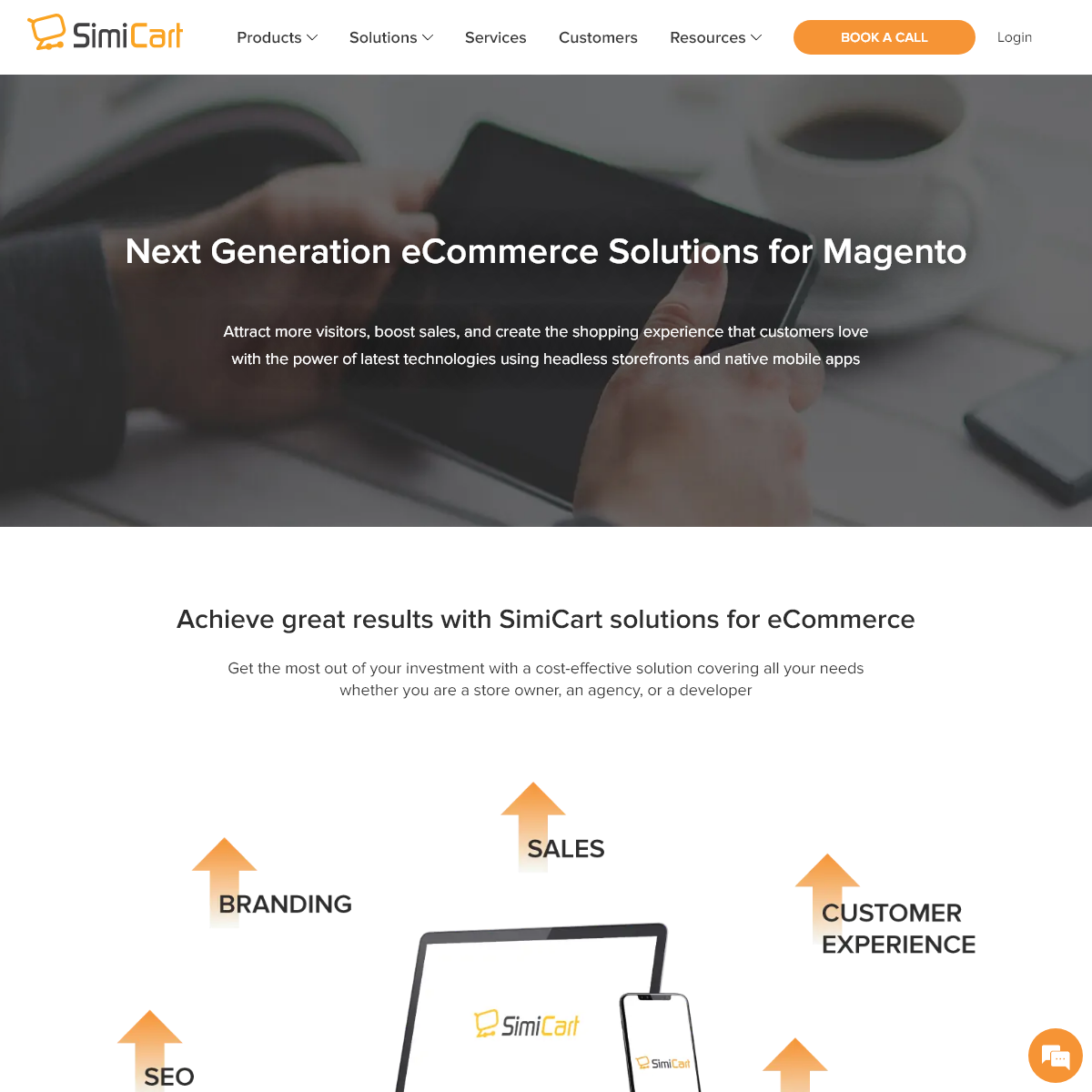Next Generation eCommerce Solutions for Magento - SimiCart