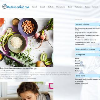 maitrise-orthop.com – Blog santé, bien être et tout ce qui touche au médical