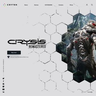 Crytek - video game developer, makers of CRYENGINE