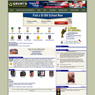 Grunt`s Military Site - Your Online Resource for Military Info