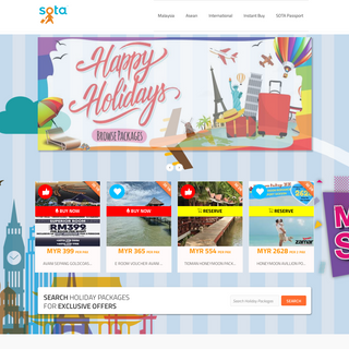 SOTA.Travel - Grab the Best Travel Deals from Licensed Malaysian Travel Agents