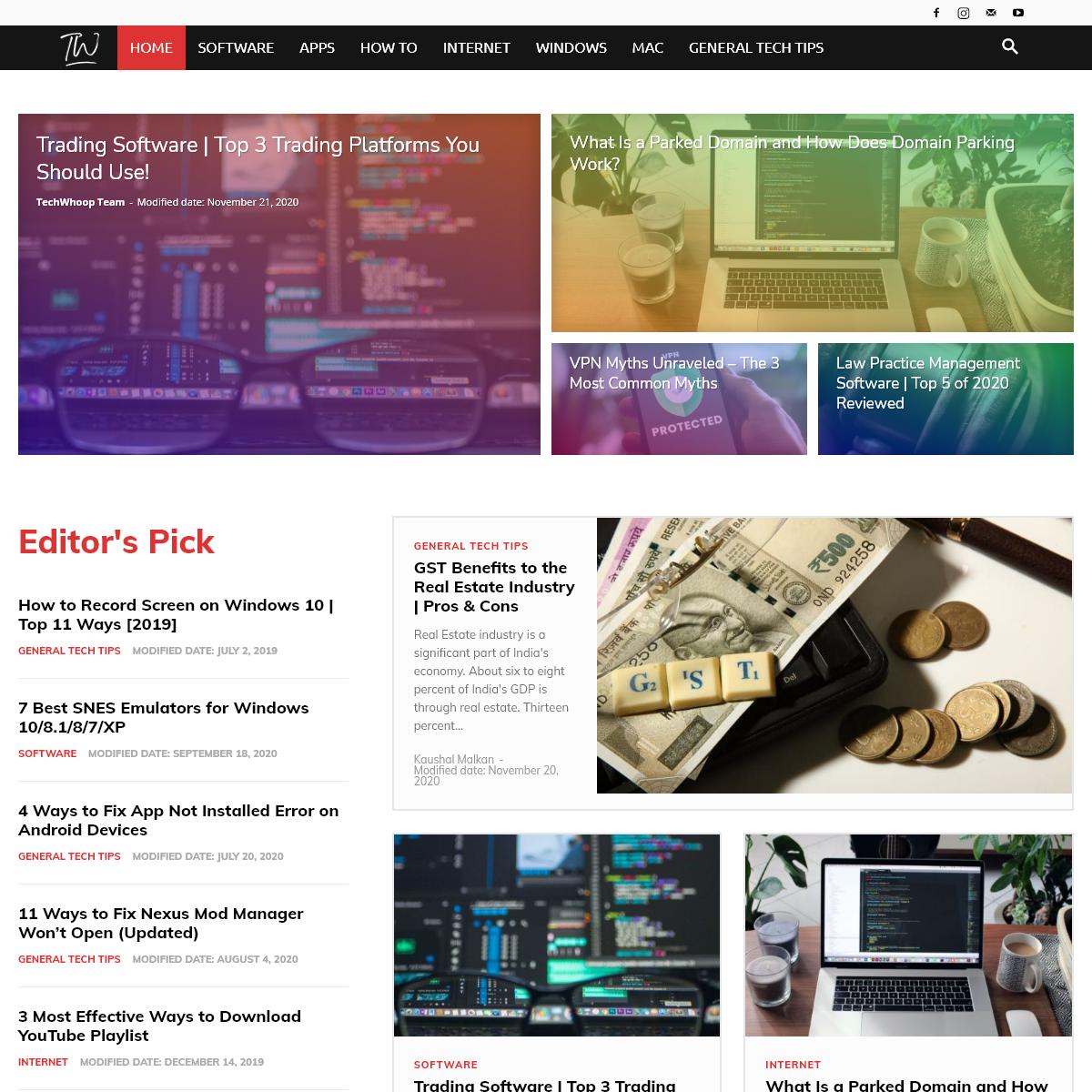 TechWhoop - Hub of Tech Tips & Tricks