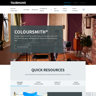 Taubmans Paint - Made in Australia – Paint Colours for Any Project