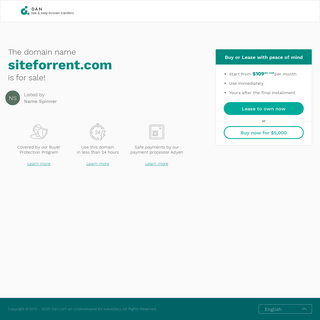 The domain name siteforrent.com is for sale