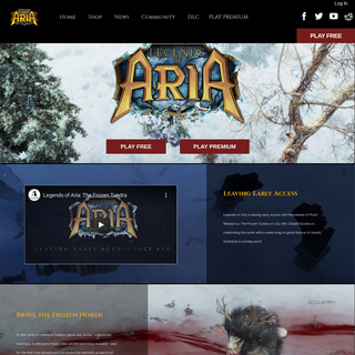 Legends of Aria – A moddable sandbox MMORPG