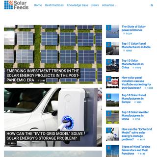 Better ways to market solar energy - SolarFeeds Marketplace