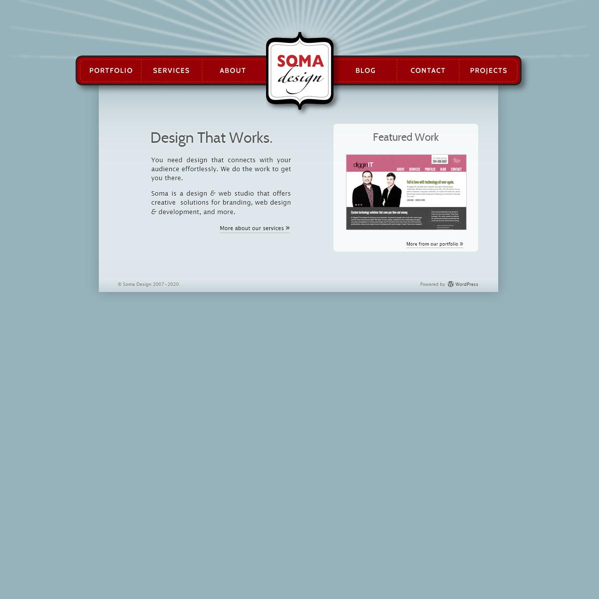 Soma Design – Winnipeg Web Design · WordPress Development