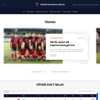 Forsíða - Fótbóltssamband Føroya