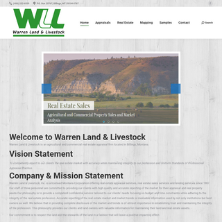 Home - Warren Land & Livestock